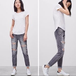 One X One Teaspoon Freedbird Grey Chalk Jeans